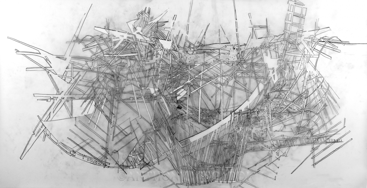 Lehigh University Anthony Viscardi - architectural drawing